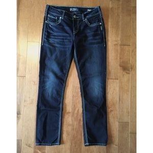 Silver Jeans Suki Mid Slim 30